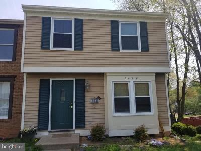 Woodbridge Townhouse For Sale: 3470 Brookville Lane