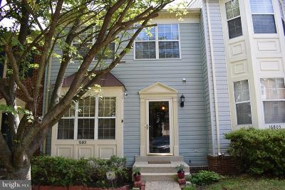 Woodbridge Townhouse For Sale: 16801 Capon Tree Lane