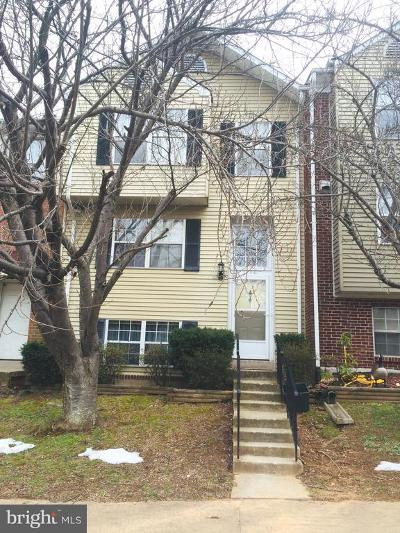 Prince William County Townhouse For Sale: 14081 Geraldine Court