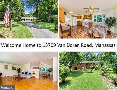 Manassas Single Family Home For Sale: 13709 Van Doren Road