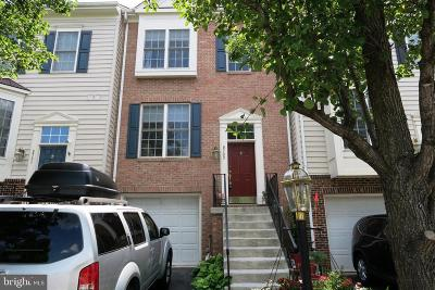 Manassas Townhouse For Sale: 9733 Cheshire Ridge Circle