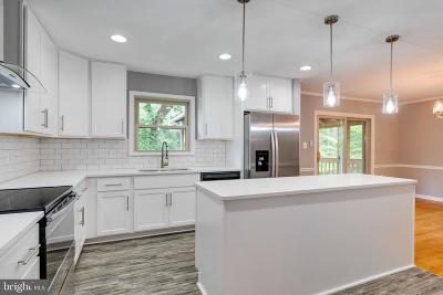 Triangle Single Family Home For Sale: 18505 Oak Hill Street
