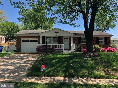 Woodbridge Single Family Home For Sale: 13325 Keystone Drive