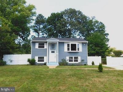 Woodbridge Single Family Home For Sale: 1504 Maryland Avenue
