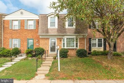Woodbridge Townhouse For Sale: 12318 Chickasaw Court