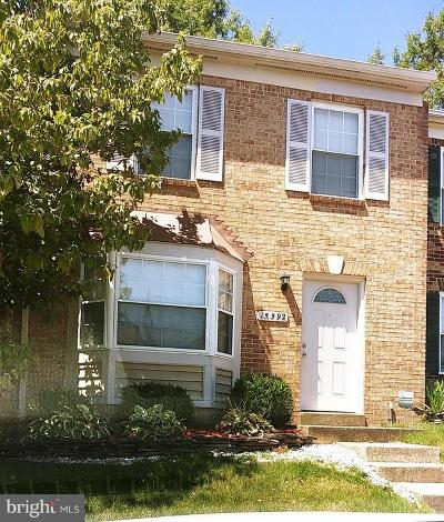 Woodbridge Townhouse For Sale: 15592 Traverser Court