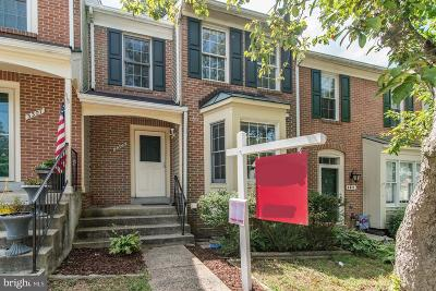 Woodbridge, Dumfries, Lorton Townhouse For Sale: 3309 Cullers Court