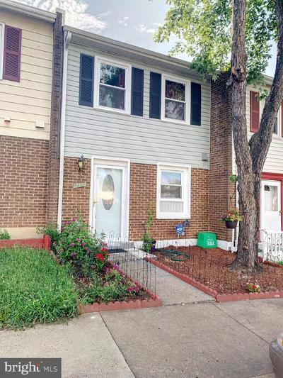 Manassas Townhouse For Sale: 7608 Somerset Lane