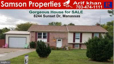Manassas Single Family Home For Sale