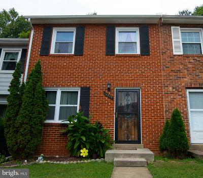 Dale City Townhouse For Sale: 14628 Endsley Turn