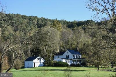 Rappahannock County Single Family Home Active Under Contract: 1532 F T Valley Road
