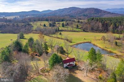Rappahannock County Farm For Sale: 3494 Slate Mills Road
