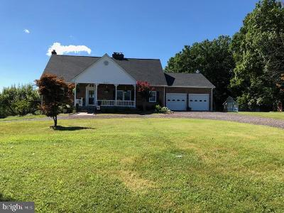 Rappahannock County Single Family Home For Sale: 12261 Major Brown Drive
