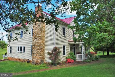 Rappahannock County Single Family Home For Sale: 3594 Slate Mills Road