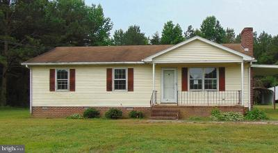 Warsaw Single Family Home For Sale: 467 The Hook Rd