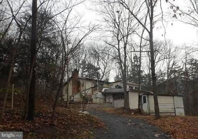 Single Family Home For Auction: 465 Sundance Mountain Road