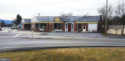 Strasburg Commercial For Sale: 327 N Massanutten