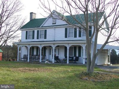 Farm For Sale: 27812 Old Valley Pike