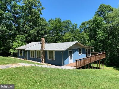 Single Family Home For Sale: 166 Mine Mountain Lane