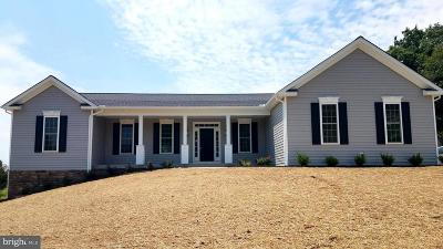 Fredericksburg Single Family Home For Sale: 13010 Trench Court