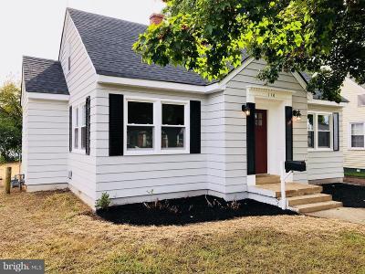 Fredericksburg VA Single Family Home For Sale: $224,000