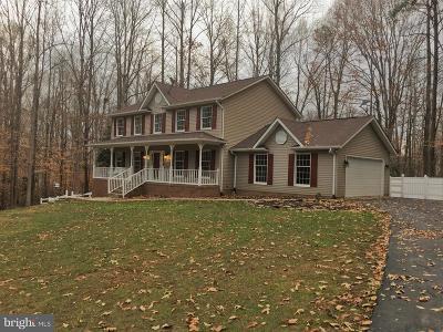 Spotsylvania Single Family Home For Sale: 8012 Pembroke Circle