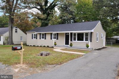 Fredericksburg VA Single Family Home For Sale: $249,900