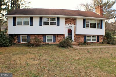Spotsylvania Single Family Home For Sale: 10312 Ni River Drive Drive
