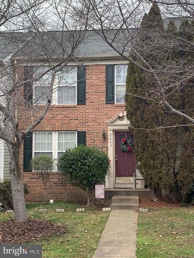 Spotsylvania County Townhouse For Sale: 4607 Club Cart Circle