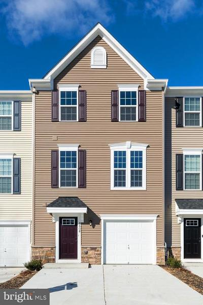 Spotsylvania Townhouse For Sale: 8608 Wilmore Lane