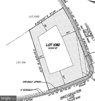 Spotsylvania Residential Lots & Land For Sale: 11201 Bridgewater Lane