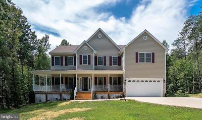 Spotsylvania County Single Family Home For Sale: 2252 Partlow Road