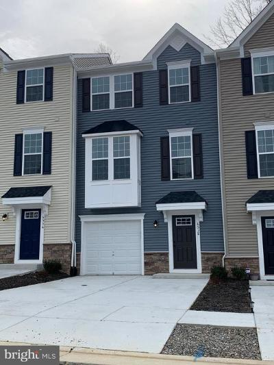 Spotsylvania County Townhouse For Sale: 6538 Crittenden Lane #0110 B
