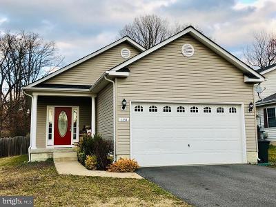Spotsylvania County Single Family Home For Sale: 113a Hotchkiss Street