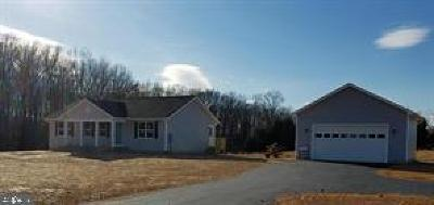 Spotsylvania Single Family Home For Sale: 13652 Post Oak Road