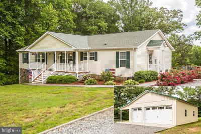 Spotsylvania County Single Family Home For Sale: 10424 Fairview Road