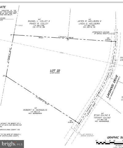 Spotsylvania Residential Lots & Land For Sale: 7440 Lakewood Lane