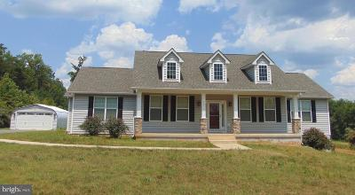 Spotsylvania Single Family Home For Sale: 12519 W Catharpin Road