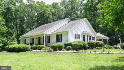 Spotsylvania Single Family Home For Sale: 6709 Towles Mill Road