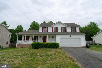 Fredericksburg VA Single Family Home For Sale: $320,000