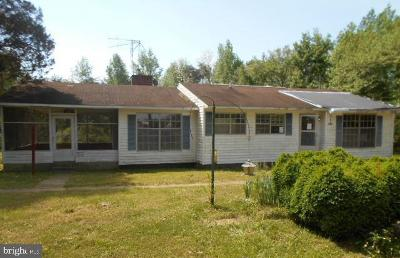 Fredericksburg VA Single Family Home For Sale: $145,000