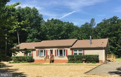 Spotsylvania Single Family Home For Sale: 11601 Orange Plank Road