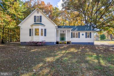 Spotsylvania Single Family Home For Sale: 7612 Marye Road