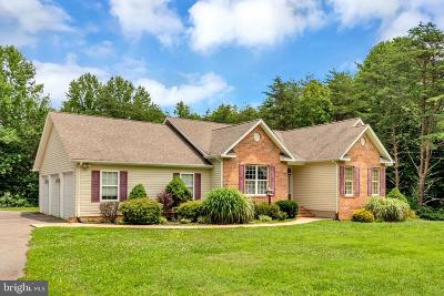 Spotsylvania Single Family Home For Sale: 7372 Courthouse Road