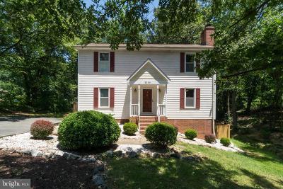 Spotsylvania County Single Family Home For Sale: 5200 Signal Corps Drive