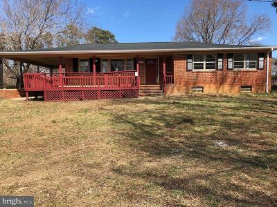 Spotsylvania Single Family Home For Sale: 4331 Hadamar Road
