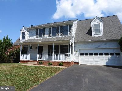Fredericksburg VA Single Family Home For Sale: $281,200