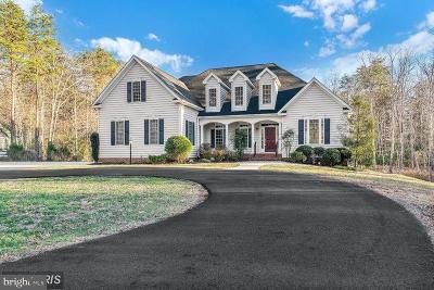 Fredericksburg VA Single Family Home For Sale: $639,900
