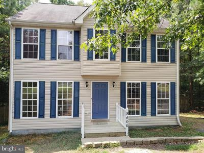 Fredericksburg Single Family Home For Sale: 8600 Dunstable Court