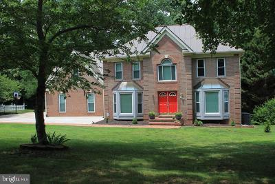 Fredericksburg Single Family Home For Sale: 4110 Longwood Drive